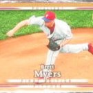 2007 UD First Edition Brett Myers #258 Phillies