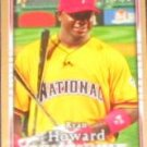 2007 UD First Edition Ryan Howard #251 Phillies