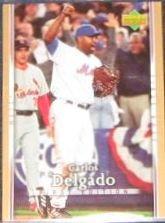 2007 UD First Edition Carlos Delgado #244 Mets