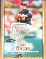 2007 UD First Edition Ben Sheets #240 Brewers