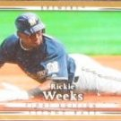 2007 UD First Edition Richie Weeks #235 Brewers