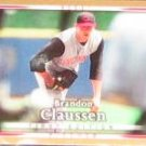 2007 UD First Edition Brandon Claussen #199 Reds