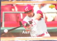 2007 UD First Edition Rich Aurilia #195 Giants