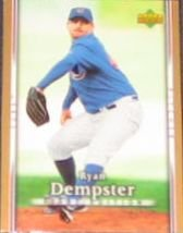 2007 UD First Edition Ryan Dempster #192 Cubs