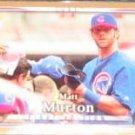 2007 UD First Edition Matt Murton #189 Cubs