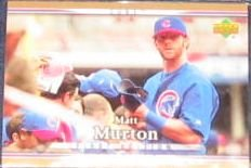 2007 UD First Edition Matt Murton #189 Cubs