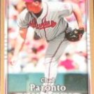 2007 UD First Edition Chad Paronto #184 Braves