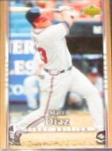 2007 UD First Edition Matt Diaz #181 Braves