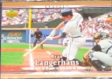 2007 UD First Edition Ryan Langerhans #180 Braves