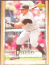 2007 UD First Edition Johnny Estrada #171 Brewers