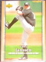 2007 UD First Edition Casey Janssen #167 Blue Jays