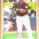 2007 UD First Edition Vernon Wells #163 Blue Jays