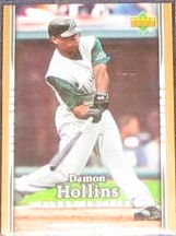 2007 UD First Edition Damon Hollins #147 Devil Rays