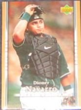 2007 UD First Edition Dioner Navarro #145 Devil Rays