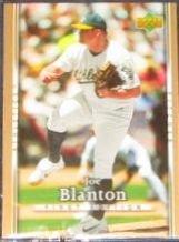2007 UD First Edition Joe Blanton #131 Athletics