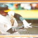 2007 UD First Edition Frank Thomas #127 Blue Jays