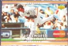 2007 UD First Edition Kyle Farnsworth #126 Yankees