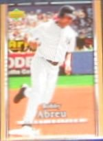 2007 UD First Edition Bobby Abreu #120 Yankees