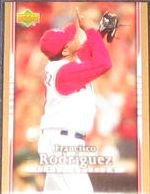 2007 UD First Edition Francisco Rodriguez #109 Angels