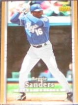 2007 UD First Edition Reggie Sanders #97 Royals