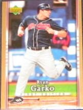 2007 UD First Edition Ryan Garko #77 Indians