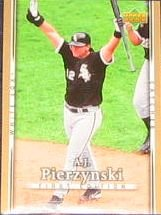 2007 UD First Edition A.J. Pierzynski #71 White Sox