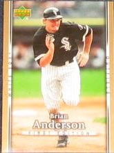 2007 UD First Edition Brian Anderson #70 White Sox