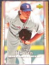 2007 UD First Edition Craig Hansen #66 Red Sox