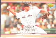 2007 UD First Edition Jonathan Papelbon #65 Red Sox