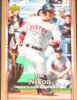 2007 UD First Edition Trot Nixon #62 Red Sox