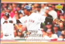 2007 UD First Edition Manny Ramirez #59 Red Sox