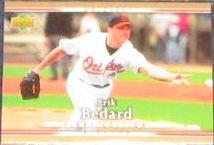 2007 UD First Edition Erik Bedard #56 Orioles