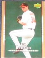 2007 UD First Edition Kris Benson #55 Orioles
