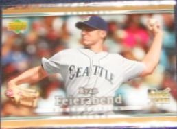 2007 UD First Edition Rookie Ryan Feierabend #39