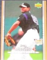 2007 UD First Edition Rookie Juan Morillo #35 Rockies
