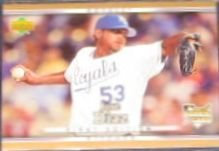 2007 UD First Edition Rookie Jose Diaz #20 Royals