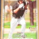 2007 UD First Edition Rookie Jerry Owens #10 White Sox
