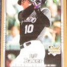 2007 UD First Edition Rookie Jeff Baker #13 Rockies