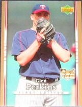 2007 UD First Edition Rookie Glen Perkins #27 Twins