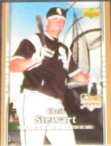 2007 UD First Edition Rookie Chris Stewart #9 White Sox