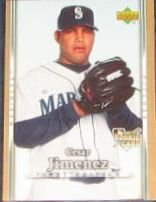 2007 UD First Edition Rookie Casar Jimenez #40 Mariners