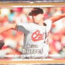2007 UD First Edition Rookie Brian Burres #3 Orioles