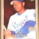 2007 UD First Edition Rookie Angel Sanchez #21 Royals