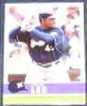 2006 Fleer Tradition Carlos Lee #44 Brewers