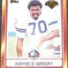 2006 Topps HOF Rayfield Wright #HOFT-RWR Cowboys