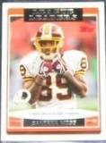 2006 Topps League Leaders Santana Moss #284 Redskins