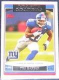 2006 Topps League Leaders Tiki Barber #282 Giants