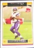 2006 Topps Rookie Tarvaris Jackson #384 Vikings