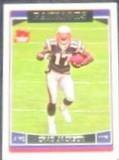 2006 Topps Rookie Chad Jackson #358 Patriots