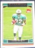 2006 Topps Rookie Derek Hagan #362 Dolphins